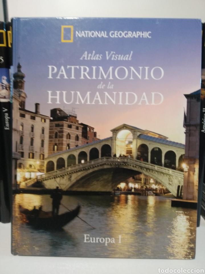 PATRIMONIO DE LA HUMANIDAD. EUROPA I. ATLAS VISUAL. NATIONAL GEOGRAPHIC (Libros de Segunda Mano - Geografía y Viajes)
