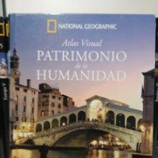Libros de segunda mano: PATRIMONIO DE LA HUMANIDAD. EUROPA I. ATLAS VISUAL. NATIONAL GEOGRAPHIC. Lote 277742733