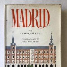 Libros de segunda mano: MADRID. - CELA, CAMILO JOSÉ.. Lote 123174272