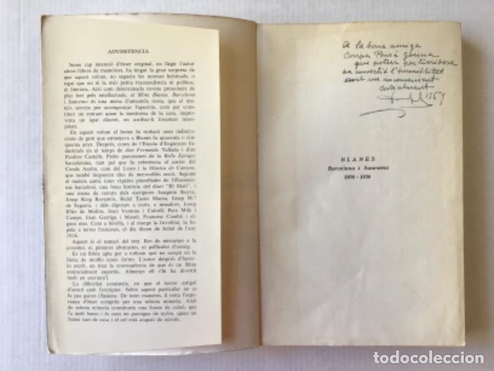 Libros de segunda mano: BLANES. Barcelona i Sanremo, 1906-1936. - COMA SOLEY, Vicens. - Foto 2 - 123177123