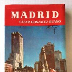 Libros de segunda mano: MADRID. APÉNDICE, DEDICADO A LA VISITA AL MUSEO DEL PRADO, POR ENRIQUE LAFUENTE FERRARI. - GONZÁLEZ-. Lote 123197008
