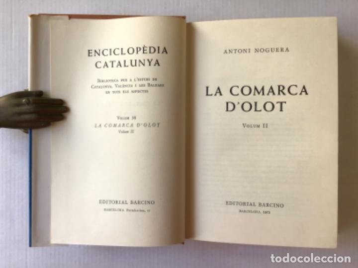 Libros de segunda mano: LA COMARCA DOLOT. - NOGUERA, A. - Foto 5 - 123223430
