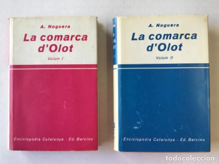 LA COMARCA D'OLOT. - NOGUERA, A. (Libros de Segunda Mano - Geografía y Viajes)