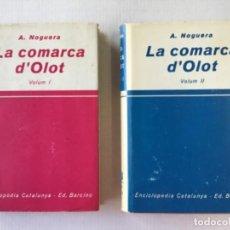 Libros de segunda mano: LA COMARCA D'OLOT. - NOGUERA, A.. Lote 123223430