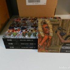 Libros de segunda mano: PLANETA ÚNICO 3 LIBROS MÁS EXPOSITOR USB ETC EDITORIAL GRANDES PUBLICACIONES NUEVO AÑO 2020 COMPLETO. Lote 278459468