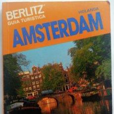 Libros de segunda mano: GUIA TURISTICA BERLITZ, - AMSTERDAM - 1989 EL ENVIO ESTA INCLUIDO.. Lote 278483968