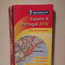 Libros de segunda mano: MAPA - MICHELIN ATLAS DE CARRETERAS ESPAÑA Y PORTUGAL AÑO 2010. Lote 278542123