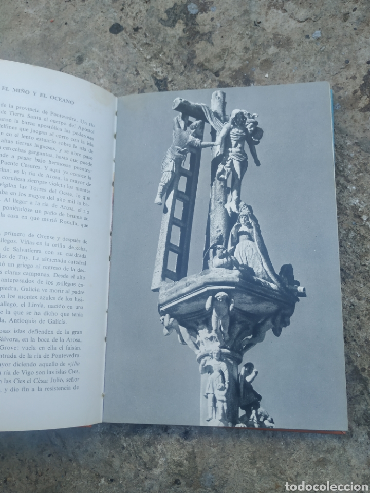 Libros de segunda mano: Pontevedra rías bajas, por Álvaro cunqueiro 1978 - Foto 2 - 278690003