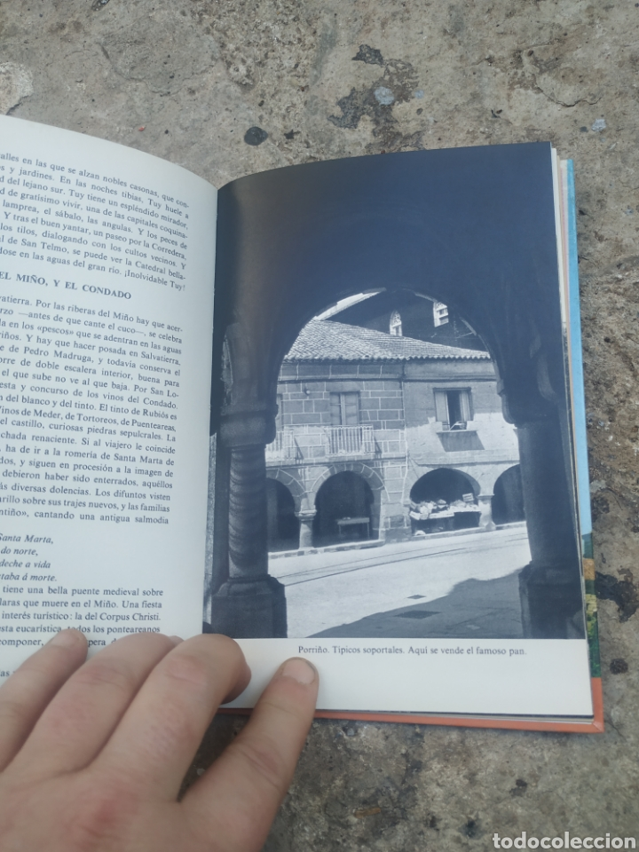 Libros de segunda mano: Pontevedra rías bajas, por Álvaro cunqueiro 1978 - Foto 4 - 278690003