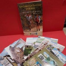 Libros de segunda mano: COLECCIONABLE...LOS CAMINOS DE SANTIAGO EN BURGOS...8 FASCICULOS..GUIA DEL PEREGRINO.....1993..... Lote 278690423
