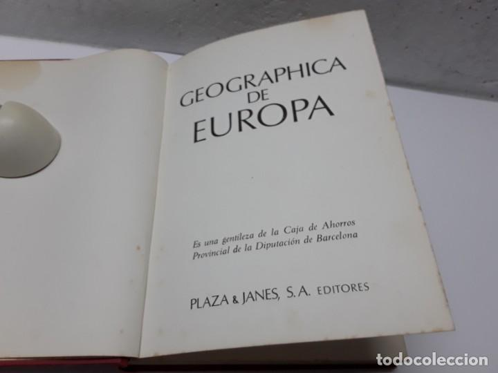 Libros de segunda mano: GEOGRAPHICA DE EUROPA - Foto 2 - 278691873