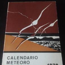 Libros de segunda mano: CALENDARIO METEORO-FENOLOGICO 1978. Lote 278693953