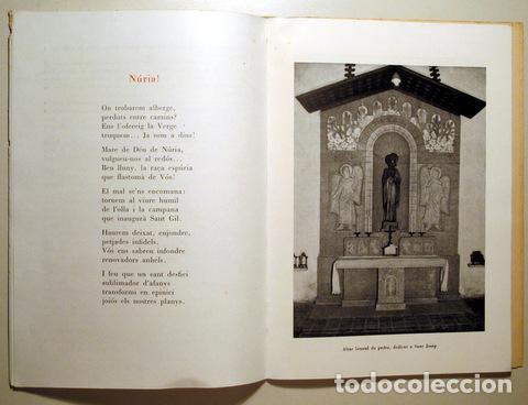 Libros de segunda mano: RECORD DEL SANTUARI DE LA MARE DE DEU DE NURIA - Seo de Urgel 1959 - Il·lustrat - Foto 3 - 282876813