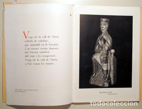 Libros de segunda mano: RECORD DEL SANTUARI DE LA MARE DE DEU DE NURIA - Seo de Urgel 1959 - Il·lustrat - Foto 4 - 282876813