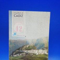 Libros de segunda mano: LOS PUEBLOS DE LA PROVINCIA DE CADIZ. 1985. PAGS. 122.. Lote 283139673