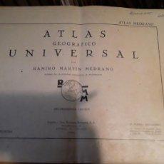 Libros de segunda mano: ATLAS GEOGRAFICO UNIVERSAL.RAMIRO MARTIN MEDRANO.EDITORIAL HERNANDO S.A.1940.67 PAGINAS.. Lote 283516768