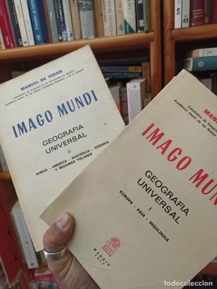 MANUEL DE TERÁN.IMAGO MUNDO. I Y II (Libros de Segunda Mano - Geografía y Viajes)