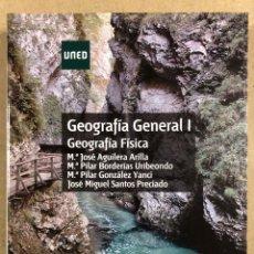 Livres d'occasion: GEOGRAFÍA GENERAL I, GEOGRAFÍA FÍSICA. VV.AA. UNED 2018.. Lote 285585818