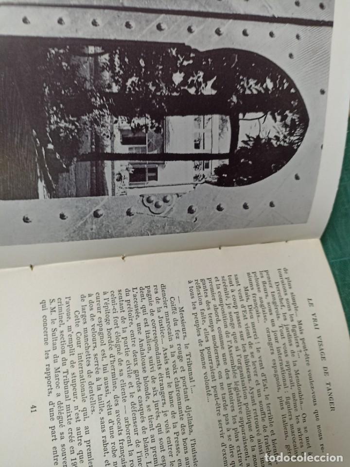 Libros de segunda mano: Pierre Malo. Le vrai visage de Tánger. - Foto 2 - 285647673