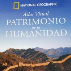 Libros de segunda mano: ATLAS VISUAL PATRIMONIO DE LA HUMANIDAD. ASIA I. MONGOLIA, CHINA Y NEPAL. NATIONAL GEOGRAPHIC.. Lote 286600373