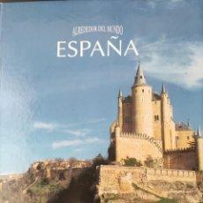 Libros de segunda mano: ALREDEDOR DEL MUNDO. ESPAÑA. CHRISTINE MASSON. PML EDICIONES 1995.. Lote 286600653