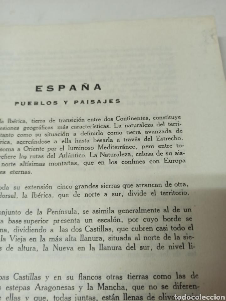 Libros de segunda mano: España pueblos y paisajes ortiz-echagüe editora Manuel Conde - Foto 5 - 286639298