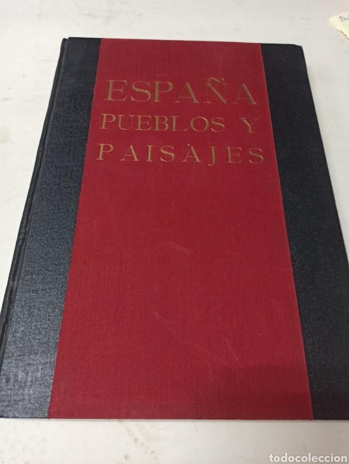ESPAÑA PUEBLOS Y PAISAJES ORTIZ-ECHAGÜE EDITORA MANUEL CONDE (Libros de Segunda Mano - Geografía y Viajes)