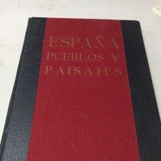 Libri di seconda mano: ESPAÑA PUEBLOS Y PAISAJES ORTIZ-ECHAGÜE EDITORA MANUEL CONDE. Lote 286639298