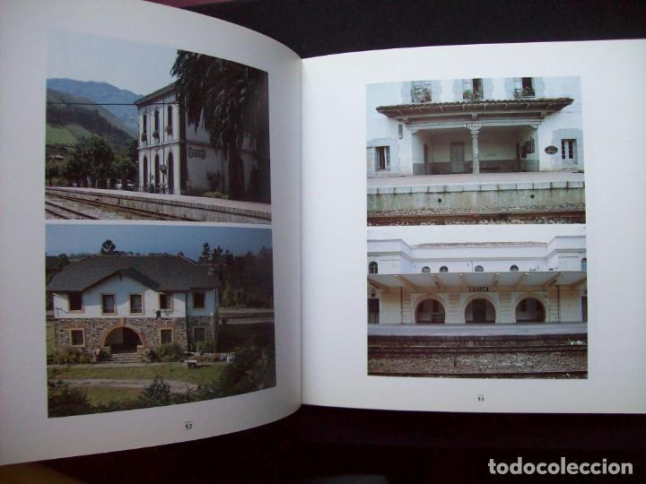 Libros de segunda mano: UN VIAJE HACIA EL NORTE. FEVE. FERROCARRIL DE VIA ESTRECHA. - Foto 3 - 287096788