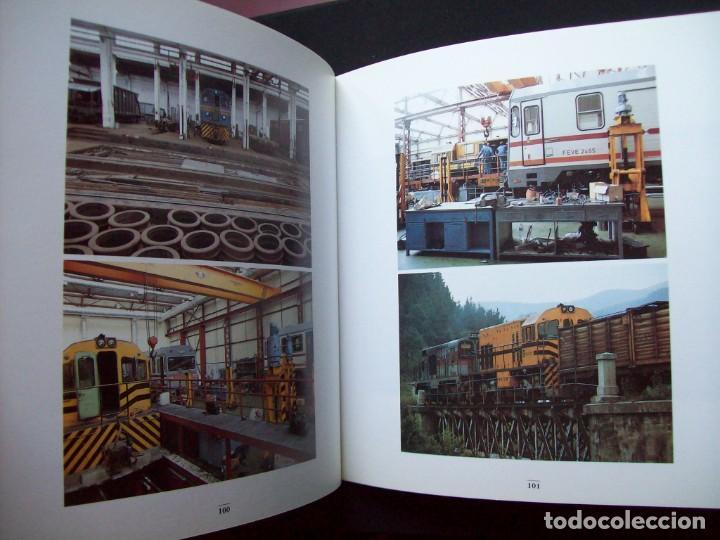 Libros de segunda mano: UN VIAJE HACIA EL NORTE. FEVE. FERROCARRIL DE VIA ESTRECHA. - Foto 7 - 287096788