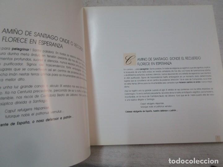 Libros de segunda mano: GALICIA - EL CAMINO DE SANTIAGO -VV.AA - EDITA ASCENSORES ENOR 1992 158PAG 25X25CM BILINGÜE + INFO - Foto 3 - 287332248