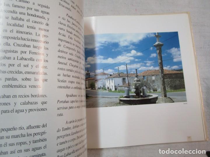 Libros de segunda mano: GALICIA - EL CAMINO DE SANTIAGO -VV.AA - EDITA ASCENSORES ENOR 1992 158PAG 25X25CM BILINGÜE + INFO - Foto 5 - 287332248