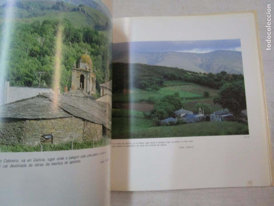 Libros de segunda mano: GALICIA - EL CAMINO DE SANTIAGO -VV.AA - EDITA ASCENSORES ENOR 1992 158PAG 25X25CM BILINGÜE + INFO - Foto 6 - 287332248