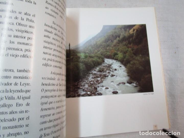 Libros de segunda mano: GALICIA - EL CAMINO DE SANTIAGO -VV.AA - EDITA ASCENSORES ENOR 1992 158PAG 25X25CM BILINGÜE + INFO - Foto 8 - 287332248