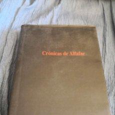 Libros de segunda mano: CRÓNICAS DE ALFAFAR - PAQUETE ESTÁNDAR CERTIFICADO 5,99. Lote 287692263