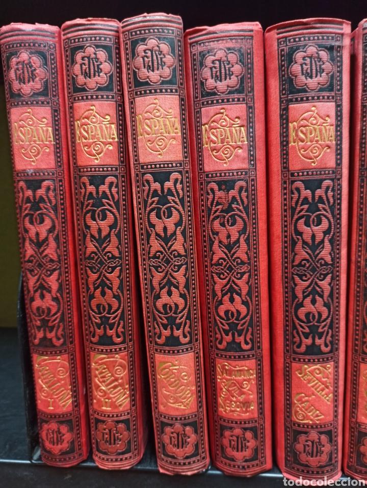 Libros de segunda mano: ESPAÑA SUS MONUMENTOS Y ARTES - SU NATURALEZA É HISTORIA 1884-1891 COMPLETA EN 27 VOLÚMENES, - Foto 2 - 287755068