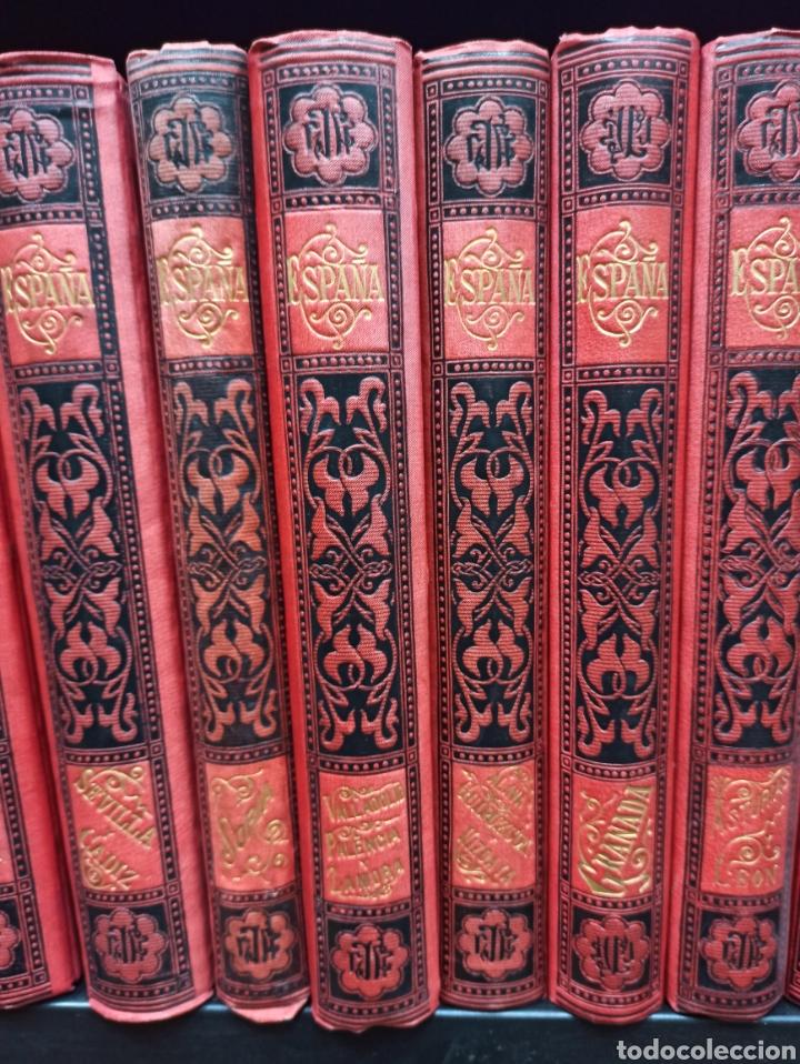 Libros de segunda mano: ESPAÑA SUS MONUMENTOS Y ARTES - SU NATURALEZA É HISTORIA 1884-1891 COMPLETA EN 27 VOLÚMENES, - Foto 3 - 287755068