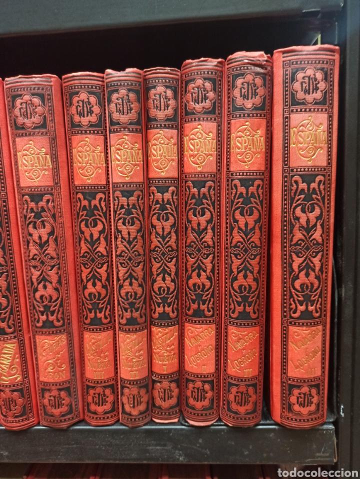 Libros de segunda mano: ESPAÑA SUS MONUMENTOS Y ARTES - SU NATURALEZA É HISTORIA 1884-1891 COMPLETA EN 27 VOLÚMENES, - Foto 4 - 287755068