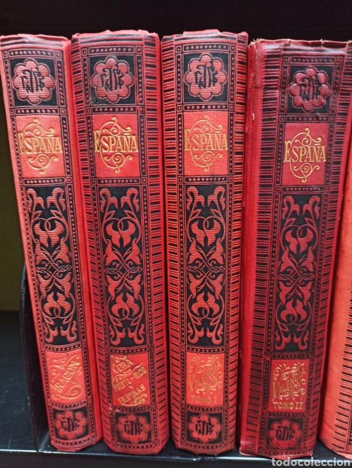Libros de segunda mano: ESPAÑA SUS MONUMENTOS Y ARTES - SU NATURALEZA É HISTORIA 1884-1891 COMPLETA EN 27 VOLÚMENES, - Foto 5 - 287755068