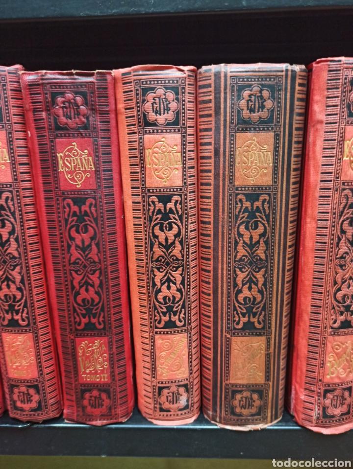 Libros de segunda mano: ESPAÑA SUS MONUMENTOS Y ARTES - SU NATURALEZA É HISTORIA 1884-1891 COMPLETA EN 27 VOLÚMENES, - Foto 6 - 287755068