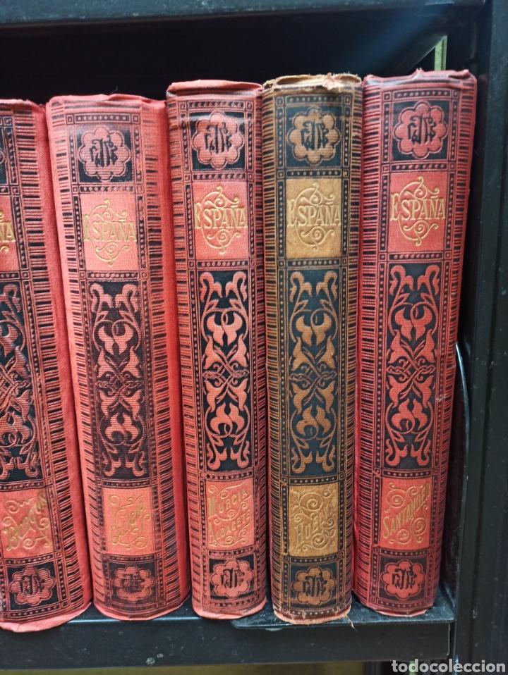 Libros de segunda mano: ESPAÑA SUS MONUMENTOS Y ARTES - SU NATURALEZA É HISTORIA 1884-1891 COMPLETA EN 27 VOLÚMENES, - Foto 7 - 287755068