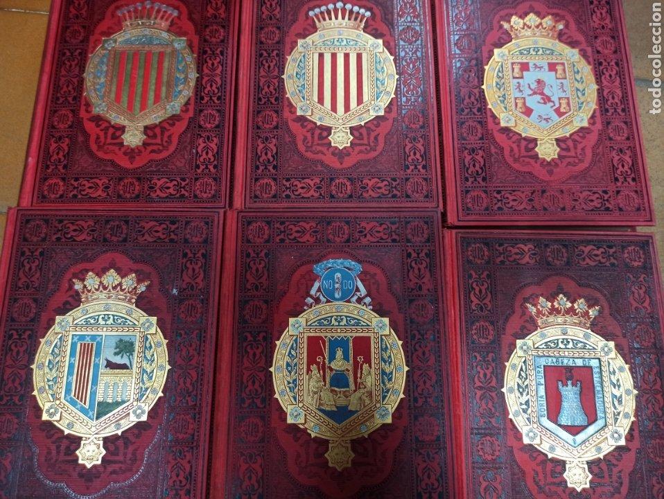 Libros de segunda mano: ESPAÑA SUS MONUMENTOS Y ARTES - SU NATURALEZA É HISTORIA 1884-1891 COMPLETA EN 27 VOLÚMENES, - Foto 8 - 287755068
