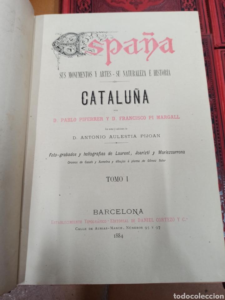 Libros de segunda mano: ESPAÑA SUS MONUMENTOS Y ARTES - SU NATURALEZA É HISTORIA 1884-1891 COMPLETA EN 27 VOLÚMENES, - Foto 9 - 287755068