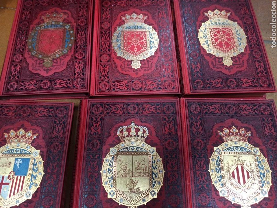 Libros de segunda mano: ESPAÑA SUS MONUMENTOS Y ARTES - SU NATURALEZA É HISTORIA 1884-1891 COMPLETA EN 27 VOLÚMENES, - Foto 13 - 287755068