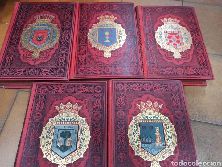 Libros de segunda mano: ESPAÑA SUS MONUMENTOS Y ARTES - SU NATURALEZA É HISTORIA 1884-1891 COMPLETA EN 27 VOLÚMENES, - Foto 22 - 287755068