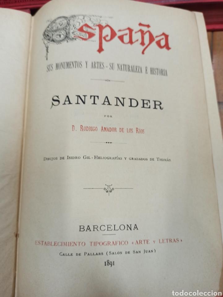 Libros de segunda mano: ESPAÑA SUS MONUMENTOS Y ARTES - SU NATURALEZA É HISTORIA 1884-1891 COMPLETA EN 27 VOLÚMENES, - Foto 23 - 287755068
