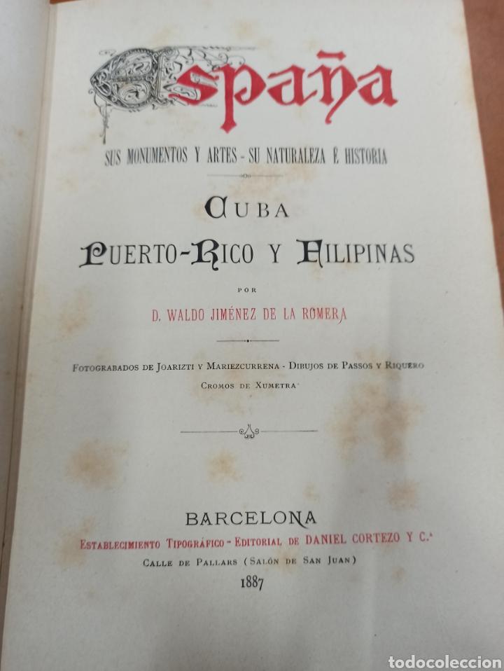 Libros de segunda mano: ESPAÑA SUS MONUMENTOS Y ARTES - SU NATURALEZA É HISTORIA 1884-1891 COMPLETA EN 27 VOLÚMENES, - Foto 26 - 287755068
