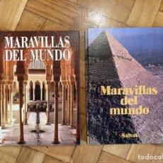 Libros de segunda mano: 2 LIBROS MARAVILLAS DEL MUNDO. Lote 287902708