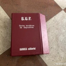 Libros de segunda mano: BUP SERIES TEMÁTICAS DE DIAPOSITIVAS (DIAPOSITIVAS). Lote 287915453