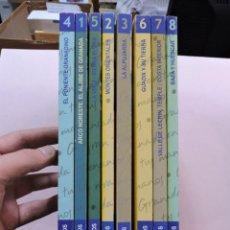 Livres d'occasion: LOTE DE GRANADA EN TUS MANOS 8 TOMOS. ARCO NOROESTE, MONTES ORIENTALES, ALPUJARRA, PONIENTE,.... Lote 288012923